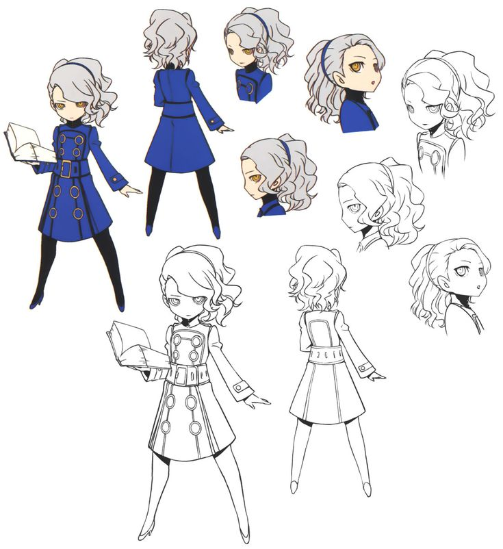 Margaret Concept from Persona Q: Shadow of the Labyrinth