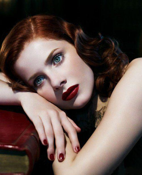 Rachel Hurd-Wood, la pelirroja más hermosa que vi.