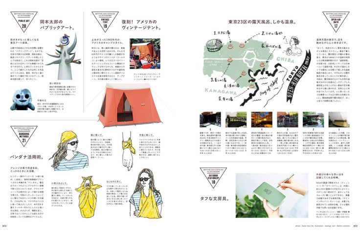 no. 31 July 2016 features 026 LET'S GO OUT 外へ、行かない? 028 A LIFE in the OPEN ...