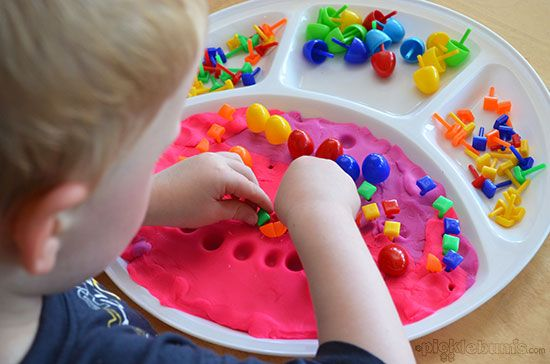 6 more simple play dough activities fine motor patterns for Playdough fine motor skills