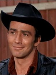 "A great picture of James Drury!  Originally from Oregon.  Remembering ""The Virginian"""