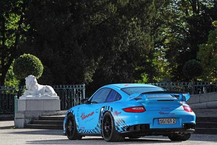 Porsche 911 GT2 RS от ателье Wimmer RS
