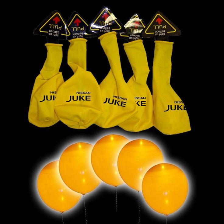€ 4,99  5 palloncini a led luminosi gialli Nissan juke fluorescenti 15 ore compleanno  Vedi altro su: http://stores.ebay.it/BEERBAZAR