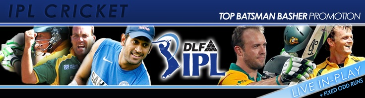 Lin in play Betting on the IPL T20 Series.