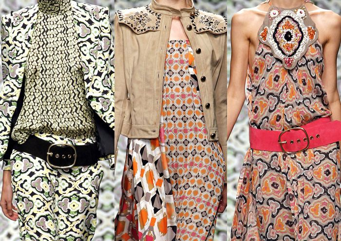 Milan Fashion Week   Spring/Summer 2013   Print Trend Highlights   Part 1 catwalks
