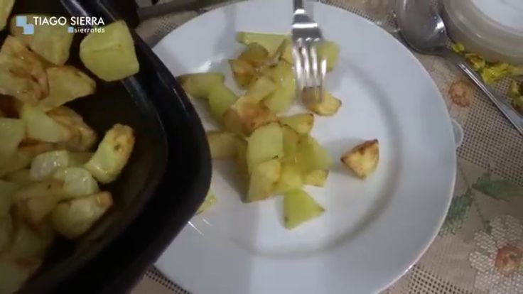 Fritadeira sem óleo - BATATA FRITA CASEIRA, BATATA FRITA COMUM - Air Fry...