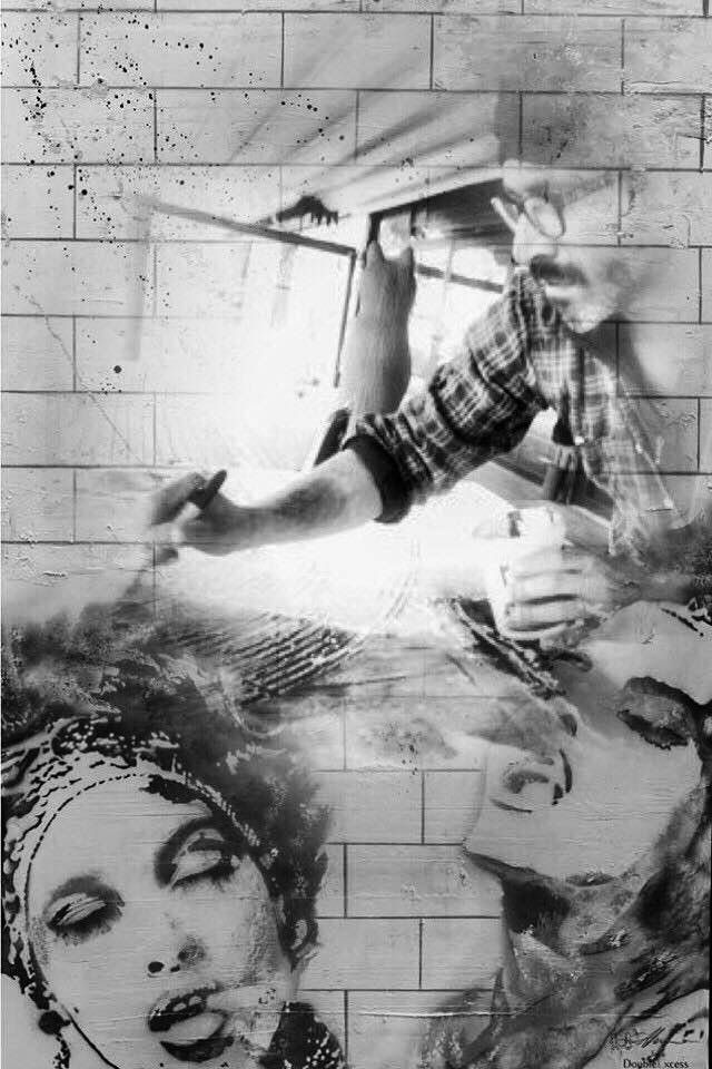 Herman Epis for Double Excess - T-Shirt Made in Italy -   La sua arte è il suo mondo, nel quale nessuno lo può disturbare e nessuno può porre limiti di sorta. Si tratta di una libertà spirituale: l' arte è il linguaggio dell' anima. L' opera non è solo ciò che si vede, bensì ciò che ci sta dietro: la sua vera essenza è l'emozione che spinge l' artista ad agire sul supporto