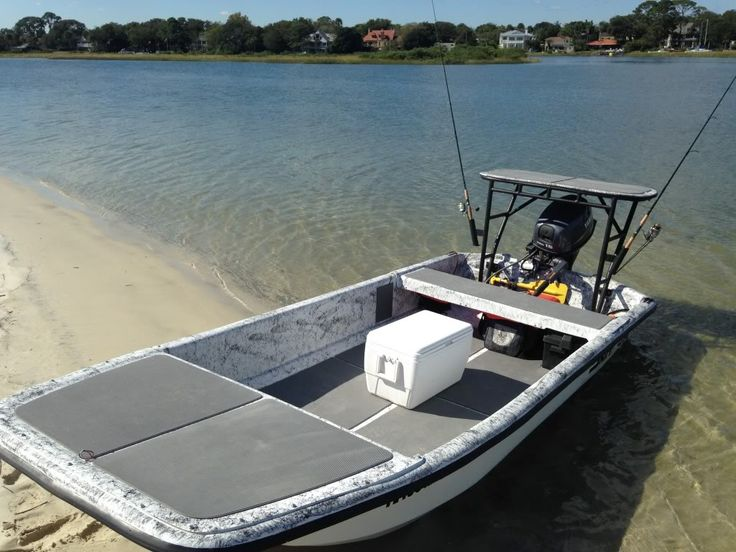 17 Best images about Skiff Modifications on Pinterest | Fishing boats, John boats and Larger