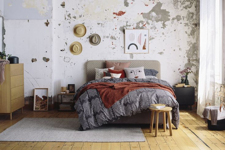 Stylist's tips: cosy bedroom with character