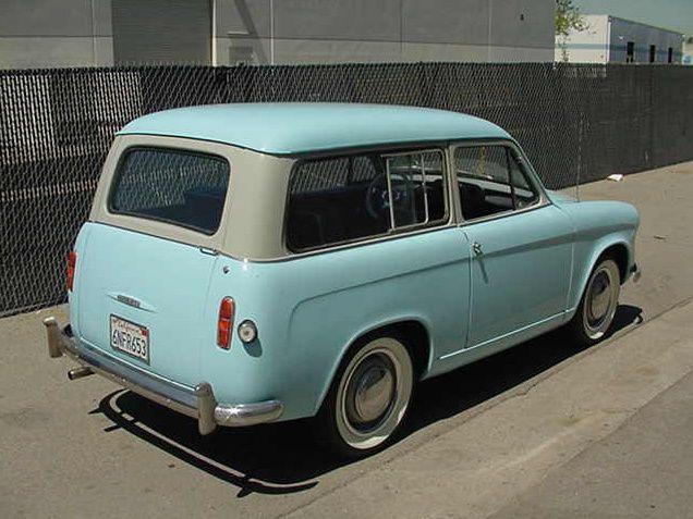 hillman husky cars  | Hooniverse Wagon Wednesday – A 1960 Hillman Husky