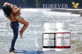 Vit♀lize Women's includes a blend including apple powder, passionflower and schisandra berry to support hormone balance.  Vit♂lize™,Men's combined with a healthy diet and exercise, offers a solution to support prostate health. https://www.youtube.com/watch?v=ALi9YMuvtTE http://360000339313.fbo.foreverliving.com/page/products/all-products/2-nutrition/usa/en Need help? http://istenhozott.flp.com/contact.jsf?language=en Buy it http://istenhozott.flp.com/shop.jsf?language=en