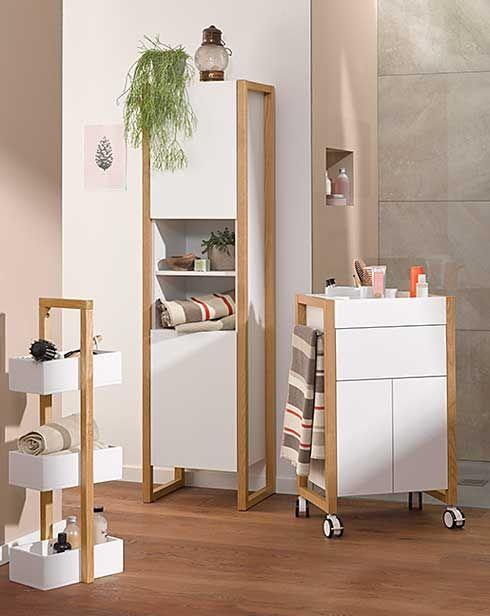 Prirodzene elegantný nábytok a doplnky do kúpeľne