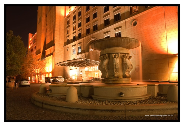 Michaelangelo Hotel Sandton. Early Morning