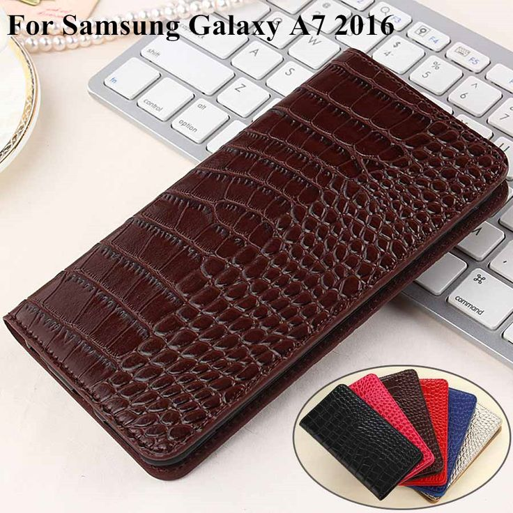 Luxury Flip Case For Samsung A7 2016  Leather + TPU Wallet Cover For Samsung Galaxy A7 2016 sm-a710 A710 Case phone Coque Fundas