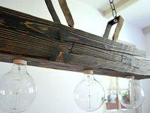 Ceiling lamp - Old beam