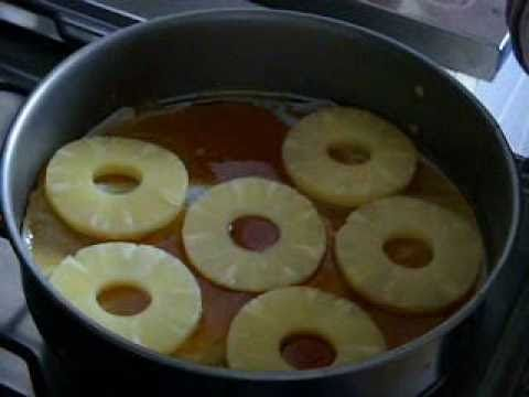 Torta all'ananas - Antonella Rughetti - YouTube