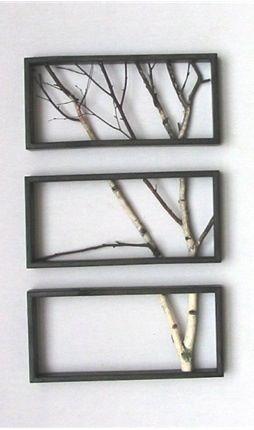 Framed Wood Art