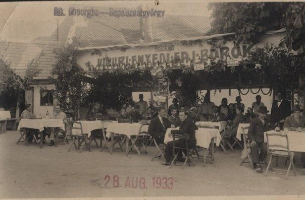 Sfantu Gheorghe - Gradina Sugas - 1933