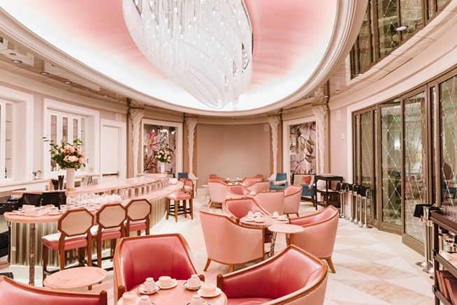 Tour All Of Hotel Bennett From The Pink Tea Room To The Rooftop