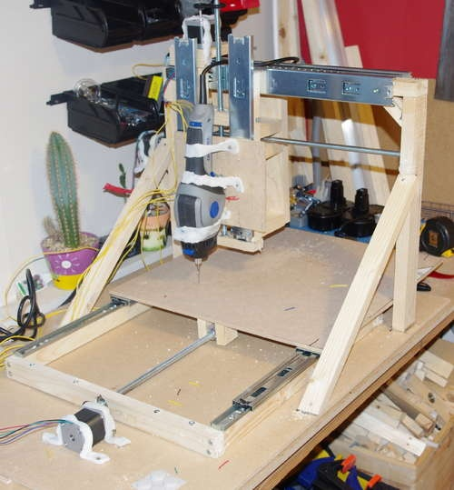 Simple Cnc Machine Diy Wood Shopbot Cnc Cnc