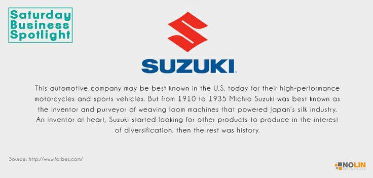 Saturday Business Spotlight: The story of Suzuki…