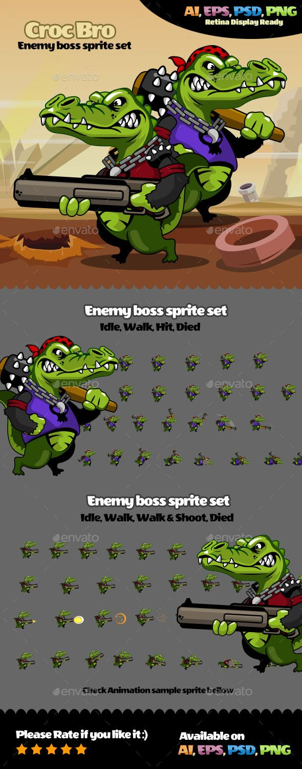 Enemy Character Vol 2
