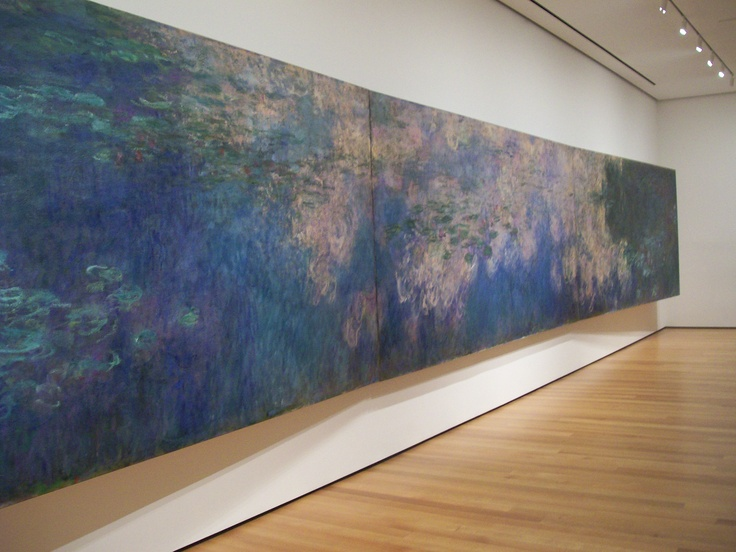 Monet - at the MoMA in New York