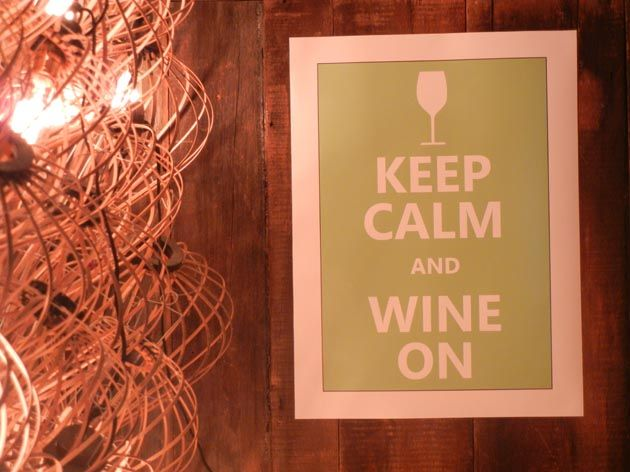 No wine-themed party is complete without a post like this one.