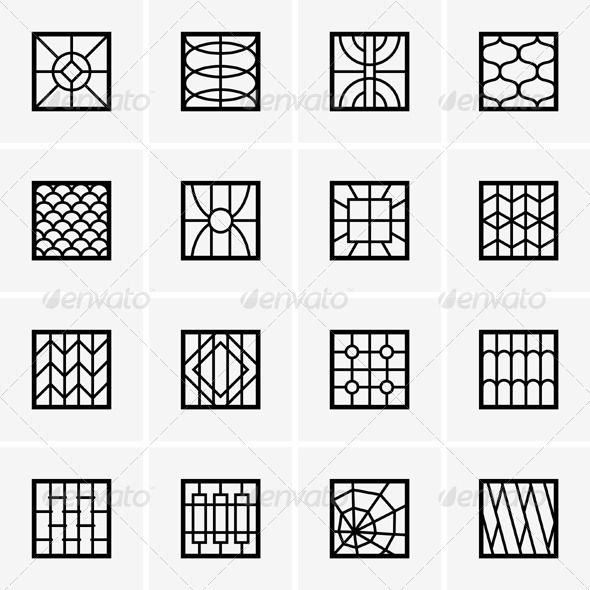 Iron Window Grills - Patterns Decorative www.gateforless.com/product-category/security-bar/residential-windows