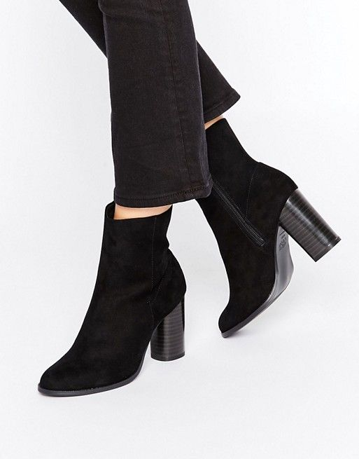 New Look | New Look Real Suede High Ankle Boot