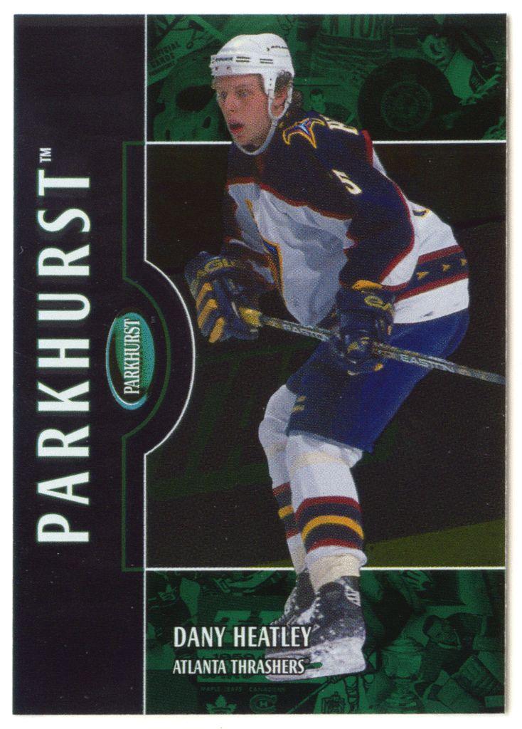 Dany Heatley # 125 - 2002-03 Parkhurst Hockey