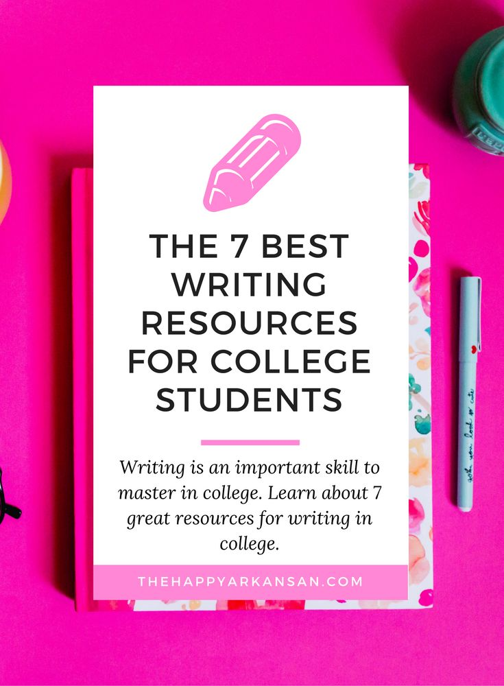 The 7 Best Writing Resources for College Students | Writing i an important skill to master in college. Click through to learn about 7 great resources for writing in college.