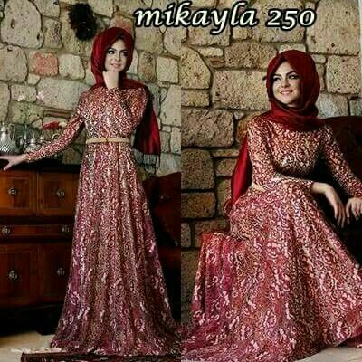Mikayla 250 Fabric : Lace and Jersey Size     : S, M, L and XL IDR 250.000  For Information and Order : Whatsapp : +62 81280365785 Pin Bb       : 26D984E4 Www.tokopedia.com
