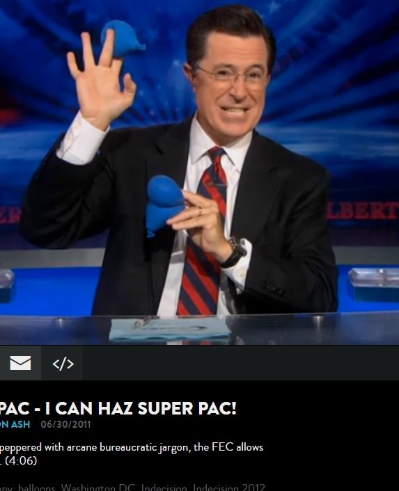Colbert Super PAC - Stephen Addresses Colbert Super Nation Video Clip | Comedy Central