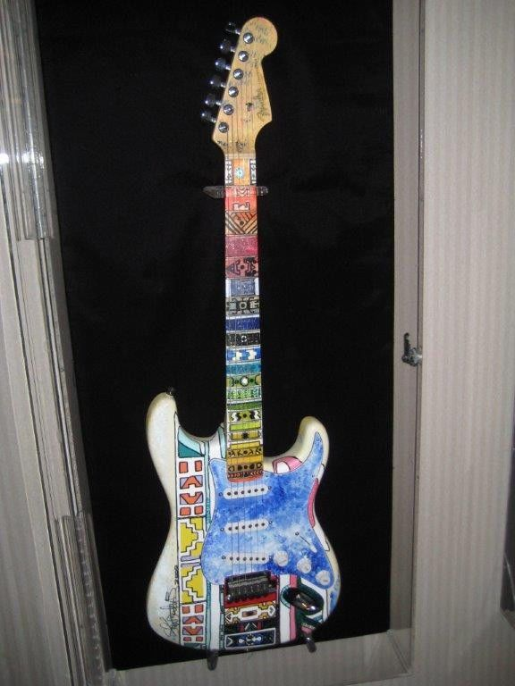 Fender Stratocaster Shari Belafonte Hand Painted Electric Guitar