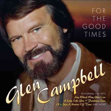 """2016 collection from the country/pop great features Glen Campbell's country hits from the '80s, including """"Any Which Way You Can,"""" """"A Lady Like You,"""" """"Faithless Love,"""" """"It's Just a Matter of Time"""" and"""