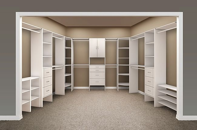 Closet Maid Master Closet designed by OrganizationalSpecialists.com