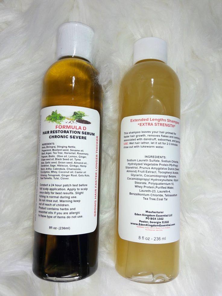 Extra strength formula d hair growth oil with amla coconut