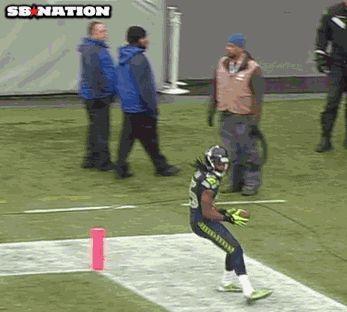 Richard Sherman Touchdown Dance