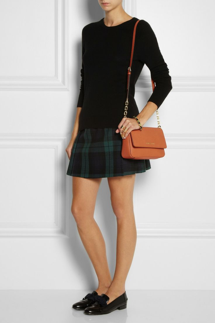 4bd531b97049 Selma medium textured-leather tote MICHAEL Michael Kors Selma  textured-leather shoulder bag NET-A-PORTER ...