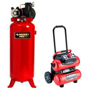 Stationary and portable compressors