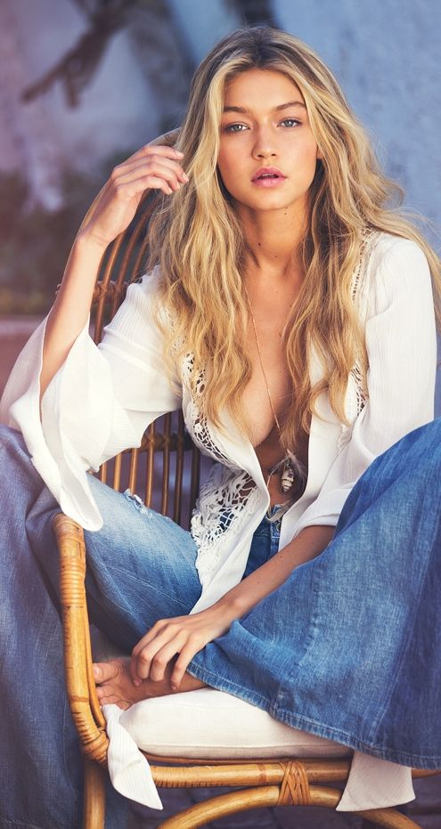 Gigi Hadid for Guess Campaign S/S 2015