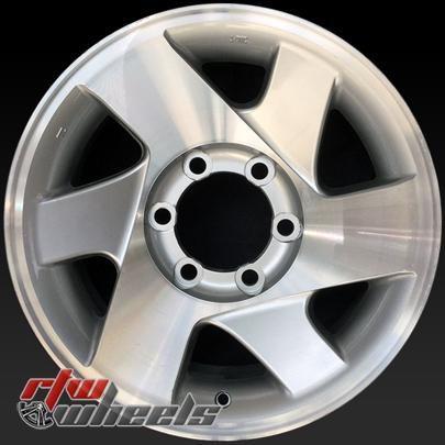 "16"" Mitsubishi Montero Sport oem wheels for sale 2002-2004 Machined Silver rims 65780 - https://www.rtwwheels.com/store/shop/16-mitsubishi-montero-sport-oem-wheels-sale-machined-silver-stock-rims-65780/"