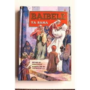 Cibemba language Children's Bible / BAIBELE YA BANA / The Bemba language, ChiBemba, also known as Cibemba, Ichibemba, Icibemba and Chiwemba, is a Bantu language that is spoken primarily in Zambia    $59.99