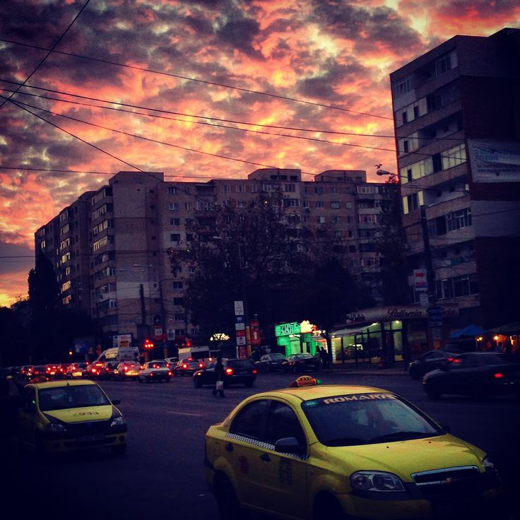 snapshot from my town #Constanta #TomisIII #taxi #townatsunset