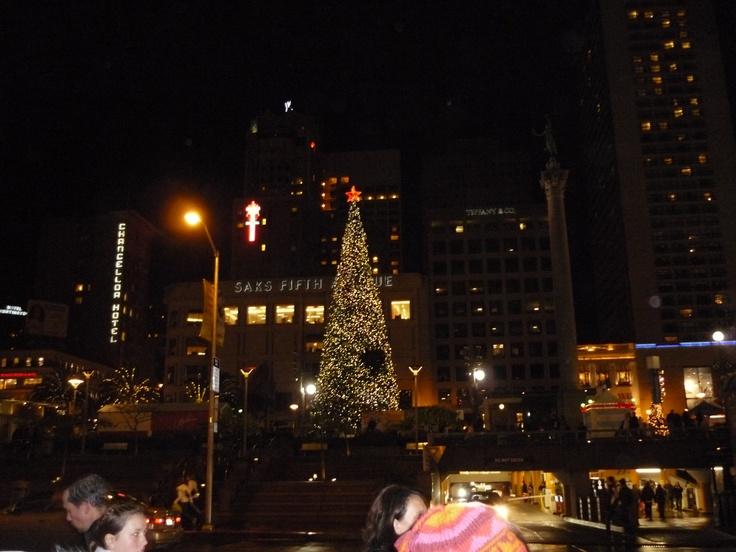 Union Square by night