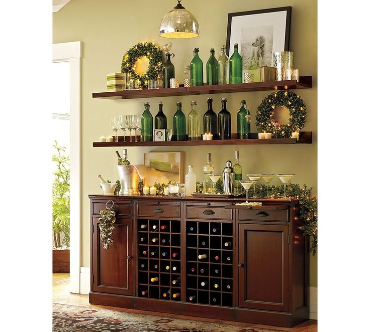 Shelves Above Buffet Google Search Bars For Home Home