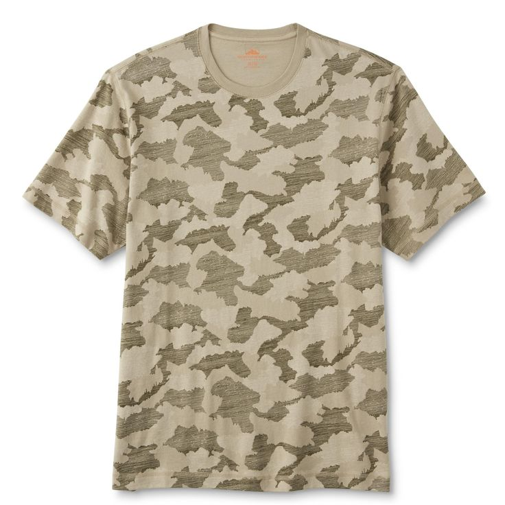 Northwest Territory Men's Big & Tall T-Shirt - Camouflage, Size: 2XLT, Olive Camo