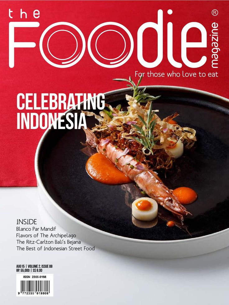 The Foodie - August 2015