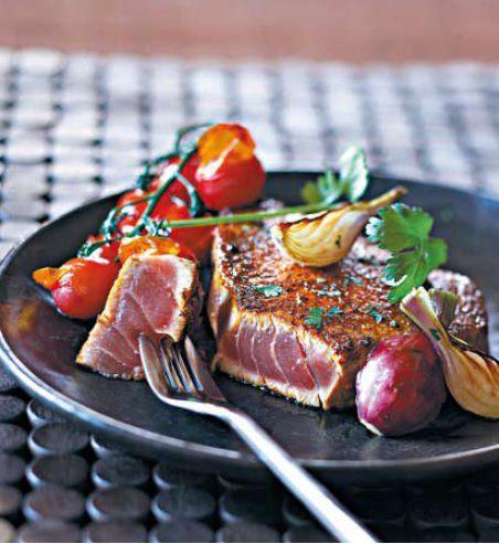 Steaks de Thon Aux Epices